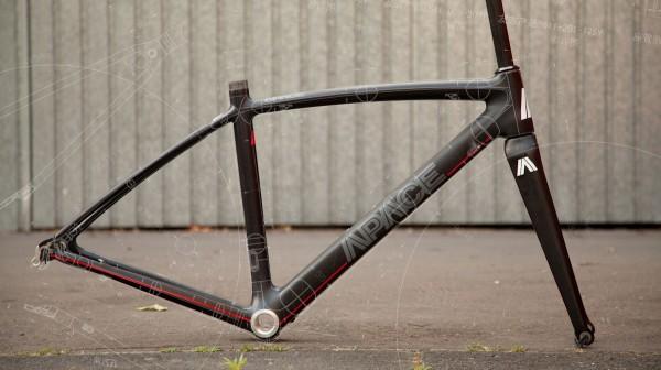 VPACE Rennrad-Carbonrahmen für kleine Fahrer