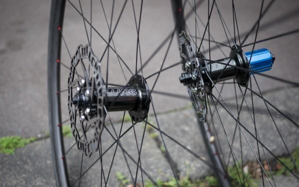 leichte Disc Laufräder fürs Rennrad