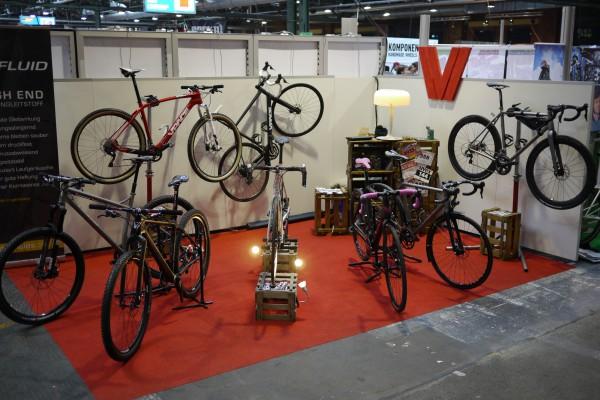 VPACE Messestand Berliner Fahrradschau 2014