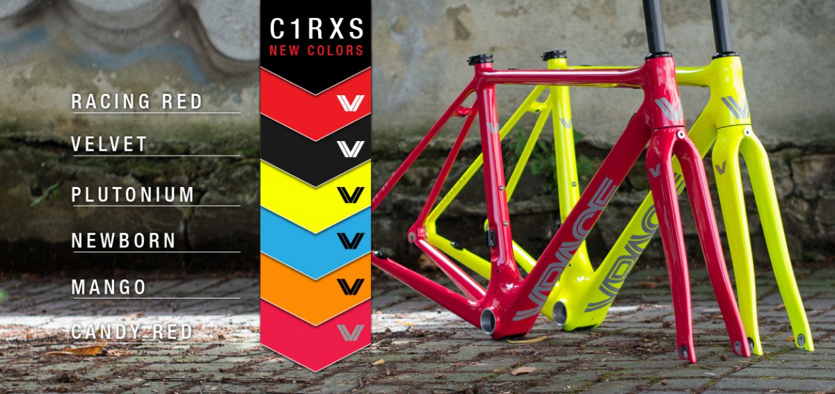 C1RXS der Rennradrahmen für kleine Sportler