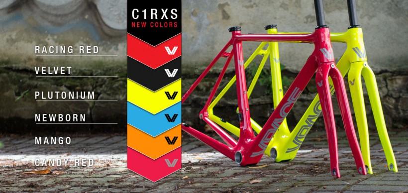 C1RXS - kleiner Rennrad rahmen für kleine Sportler