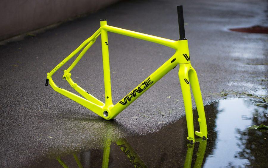 C2CX Cyclocross Carbonrahmen Plutonium Neongelb