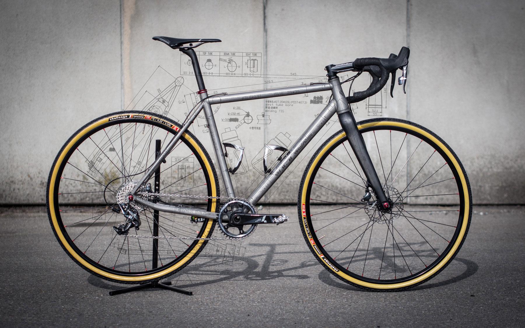 NEU - TCX Titan Cyclocross Rahmen - VPACE Bikes