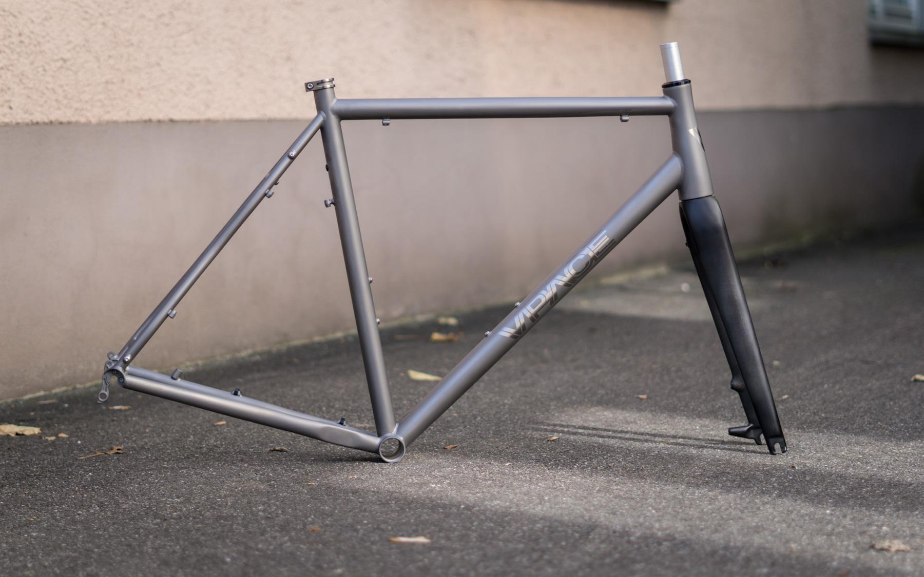 T1ST Titanrahmen – VPACE Bikes