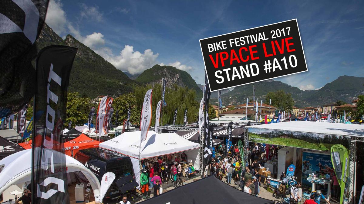 VPACE auf dem Riva Bike Festival 2017