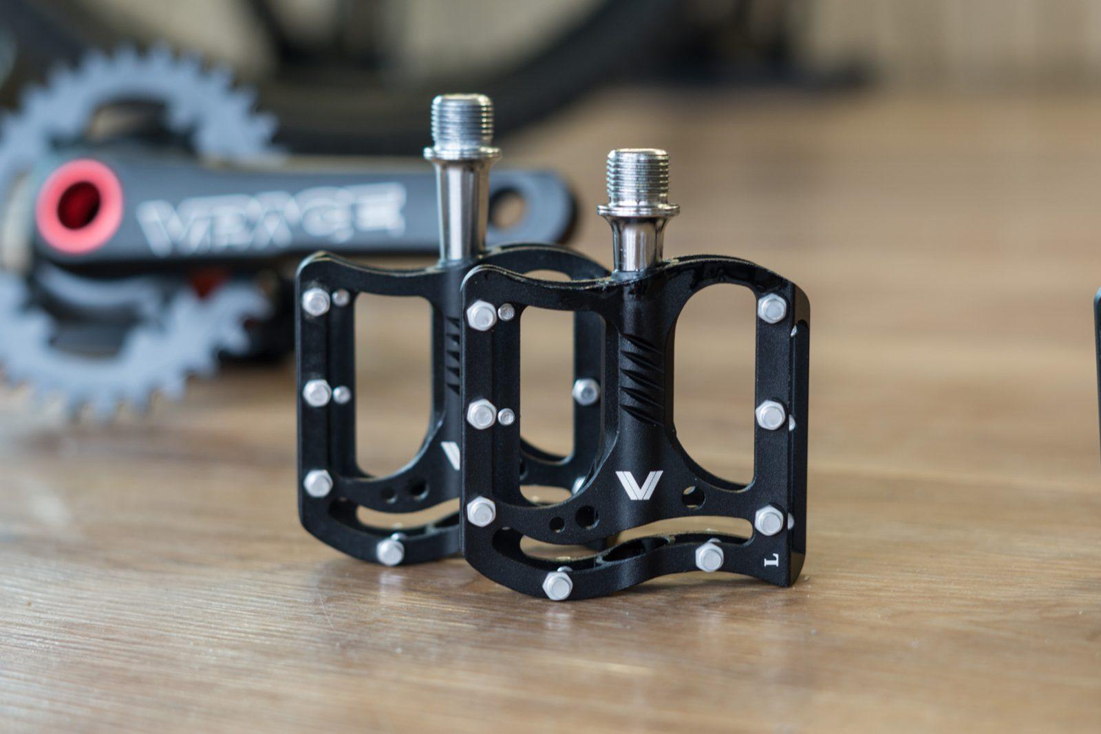 Mini Plattform Pedale mit neuem Q-Faktor