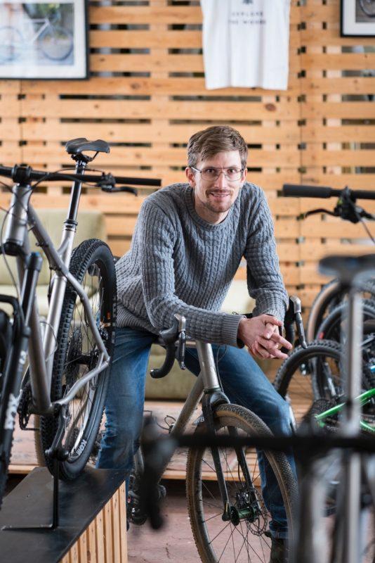 Sören Zieher, Inhaber VPACE Bikes